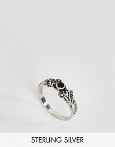 Серебряное кольцо с черным ониксом Kingsley Ryan - Серебряный