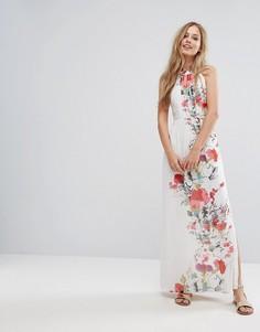 Платье макси с цветочным принтом Uttam Boutique - Мульти