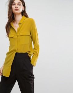 Шелковая рубашка Gestuz Vega - Желтый