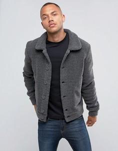 Куртка из искусственной цигейки Another Influence - Серый