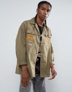 Куртка-рубашка Maharishi Tour DAfrique - Зеленый