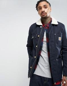 Куртка из искусственного меха Carhartt WIP Phoenix - Темно-синий