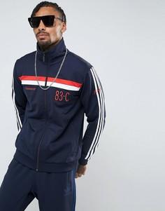 Синяя спортивная куртка adidas Originals 83-C BR6968 - Синий
