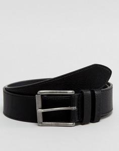 Черный ремень в стиле casual от Ben Sherman - Черный