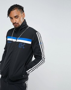 Черная спортивная куртка adidas Originals 83-C BR8981 - Черный