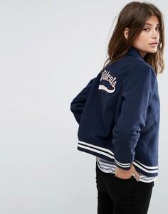 Университетская куртка с вышивкой на спине Levis - Синий Levis®
