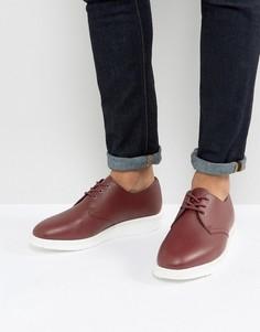 Туфли из мягкой кожи Dr Martens Torriano - Красный
