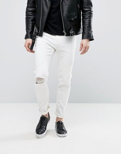 Белые джинсы Cheap Monday - Белый