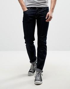 Темные эластичные узкие джинсы Lee Powell - Темно-синий