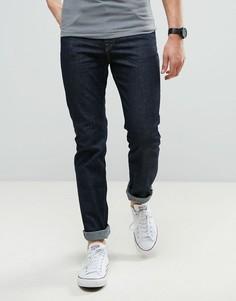 Синие эластичные узкие джинсы Lee Rider - Синий