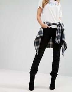 Прямые джинсы с классической талией Levis 714 - Черный Levis®