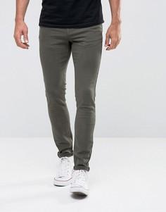 Супероблегающие джинсы Hoxton Denim - Зеленый