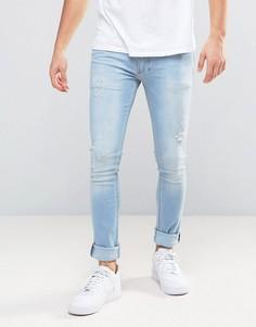 Супероблегающие эластичные джинсы Religion - Синий