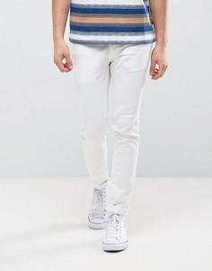 Супероблегающие джинсы Burton Menswear - Белый