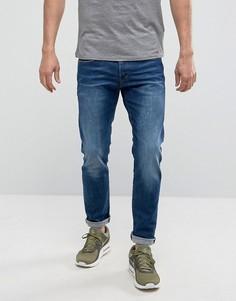 Эластичные джинсы слим G-Star 3301 - Синий