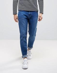 Синие джинсы скинни заниженного кроя Waven - Синий