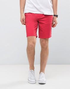Шорты чиносы слим Burton Menswear - Красный