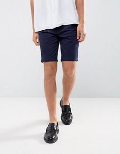 Шорты чиносы слим Burton Menswear - Темно-синий
