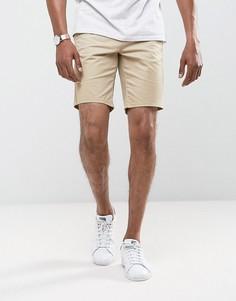 Шорты чиносы слим Burton Menswear - Светло-серый