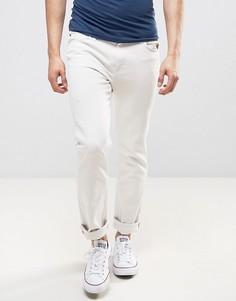 Выбеленные джинсы слим Lee Rider - Белый