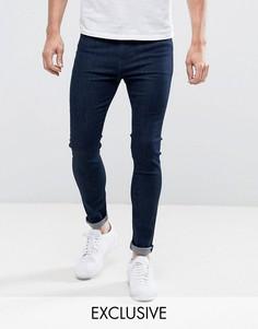Эластичные джинсы Lee - Темно-синий