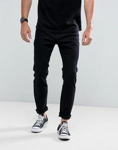Черные джинсы скинни Rollas Stinger - Черный Rollas
