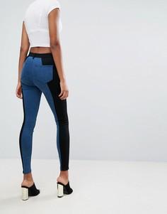 Двухцветные джинсы-премиум ASOS SCULPT ME - Мульти