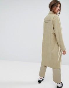 Пальто Stussy - Зеленый