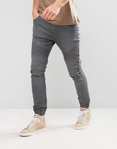 Серые джинсы в спортивном стиле Loyalty and Faith Garrett - Серый