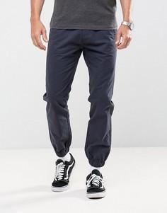 Укороченные брюки Bellfield - Темно-синий