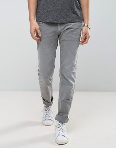 Серые эластичные джинсы узкого кроя Replay Anbass - Серый