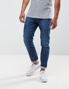 Выбеленные эластичные джинсы узкого кроя Replay Anbass - Черный