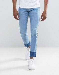 Узкие джинсы Brooklyn Supply Co - Синий