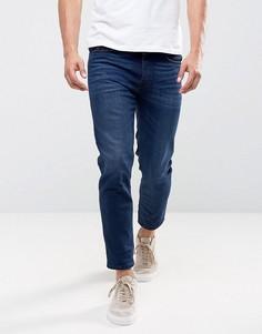 Суженные книзу укороченные джинсы Diesel Jiffer 084HJ - Синий