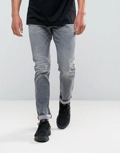 Серые джинсы скинни Diesel Tepphar 084HP - Серый