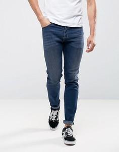 Темные джинсы скинни Diesel Tepphar 0684H - Темно-синий