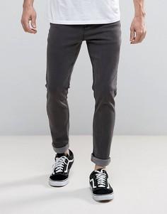 Серые джинсы скинни Systvm - Серый