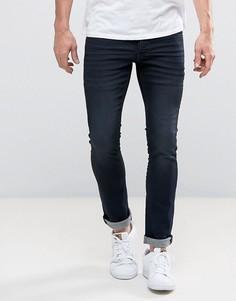 Эластичные джинсы скинни Solid - Синий