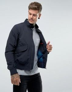 Темно-синяя куртка Харрингтон PS by Paul Smith - Темно-синий