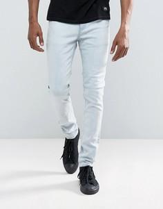 Голубые джинсы скинни Cheap Monday - Синий