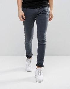 Синие окрашенные джинсы слим G-Star Revend - Темно-синий
