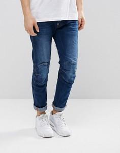 Узкие джинсы G-Star 5622 3D - Темно-синий