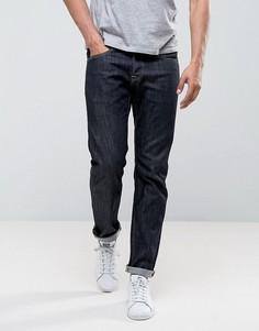 Темные зауженные джинсы Edwin ED-55 Regular - Синий