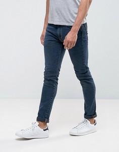 Темные выбеленные джинсы скинни Levis 519 - Темно-синий Levis®