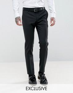 Супероблегающие брюки под смокинг Noose & Monkey - Черный