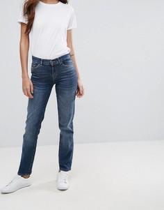 Выбеленные прямые джинсы Vero Moda 32 - Темно-синий
