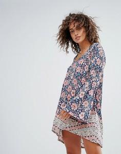 Пляжное платье с цветочным принтом Billabong - Мульти