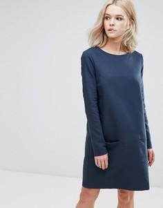 Платье-футболка Vila - Темно-синий