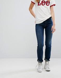 Прямые джинсы с заниженной талией Lee Marion - Синий