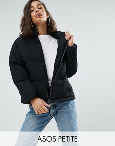 Дутая куртка ASOS PETITE - Черный